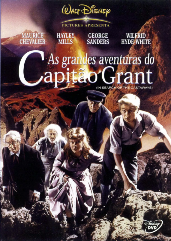 As Grandes Aventuras do Capitão Grant - ( In Search of the Castaways )