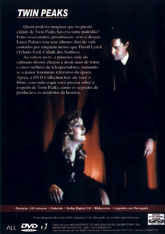 Twin Peaks: Os Ultimos Dias de Laura Palmer - ( Twin Peaks: Fire Walk With Me )
