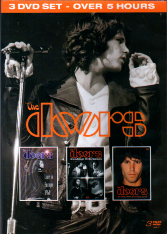 The Doors - 3 DVD Set - Over 5 Hours - ( Live In Europe 1986 - Soundstage Performances )