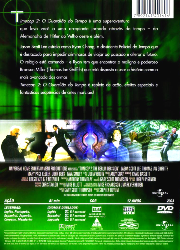 Timecop 2 - ( Timecop: The Berlin Decision )