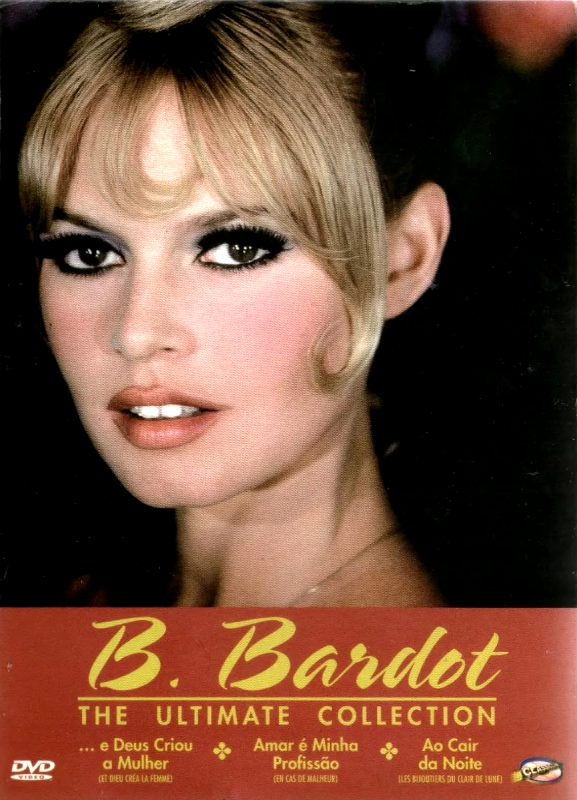 Box  Brigitte Bardot - The Ultimate Collection - 3 DVDs
