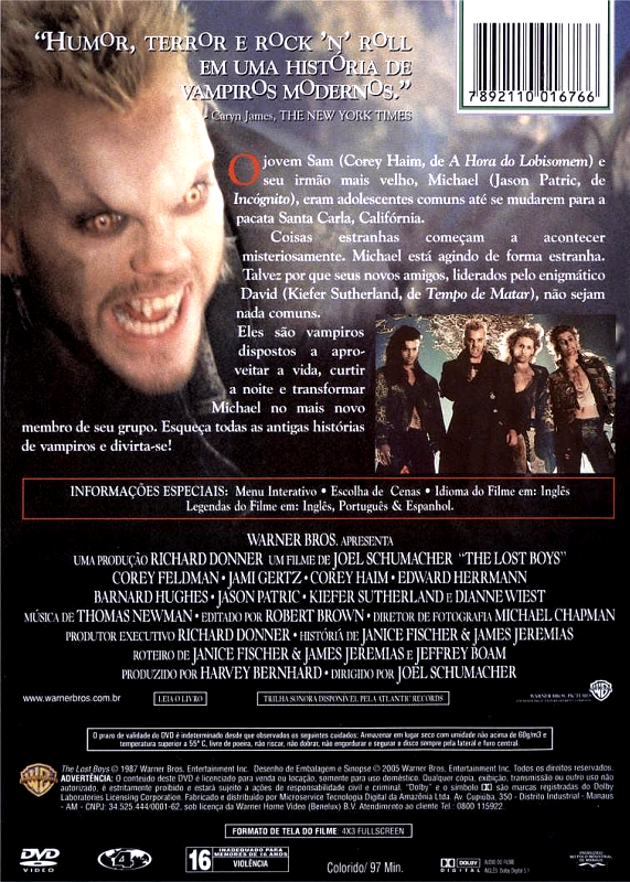 Os Garotos Perdidos - ( The Lost Boys )