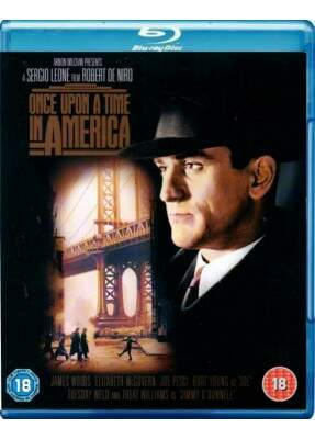 Era Uma Vez Na América - ( Once Upon a Time in America ) [ Blu-Ray ]