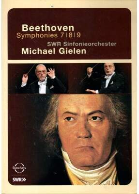 Pack Michael Gielen: Beethoven Symphonies No. 1 a 9