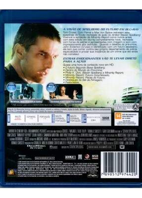 Minority Report - A Nov130a Lei  - ( da Obra de Philip K Dick ) [ Blu-Ray ]