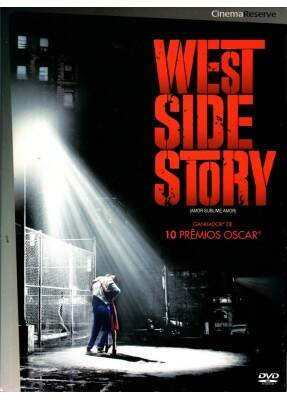 Amor Sublime Amor - ( West Side Story ) - DVD Duplo