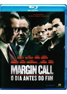 Margin Call - O Dia Antes do Fim - ( Margin Call ) [ Blu-Ray ]