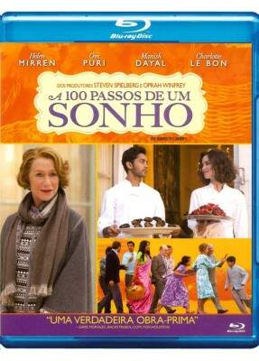A 100 Passos de Um Sonho - ( The Hundred-Foot Journey ) [ Blu-Ray]