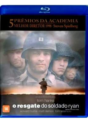 O Resgate do Soldado Ryan -  ( Saving Private Ryan ) [ Blu-Ray ]