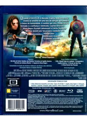 Capitão América 2 - O Soldado Invernal - ( Captain America: The Winter Soldier )  [ Blu-Ray ]
