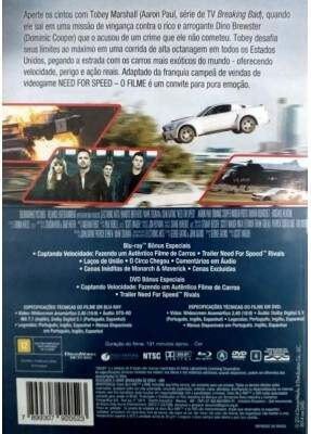 Need For Speed - O Filme - ( Need for Speed ) [ DVD + Blu-ray ]