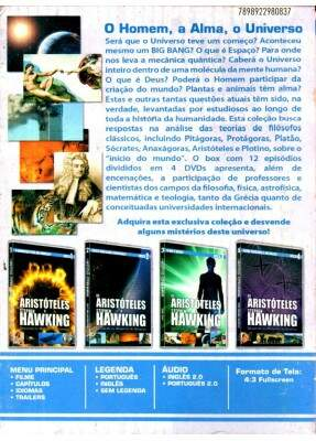 Box De Aristóteles A Stephen Hawking (4 DVDs)