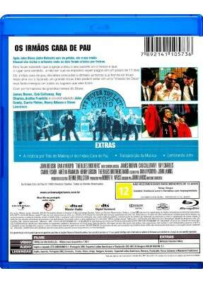 Os Irmãos Cara de Pau - ( The Blues Brothers )  [ Blu-Ray ]