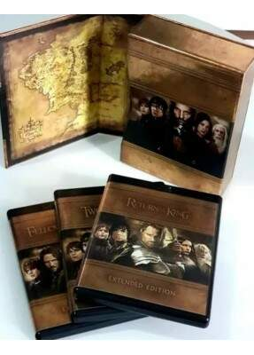 Trilogia O Senhor dos Anéis - Versão Estendida - 15 Discos - ( The Lord of the Rings - The Motion Picture Trilogy - Extended Edition ) [ Blu-Ray ]