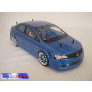 Honda Civic Azul Fibra e Motor Orion 13T RTR By Jahy