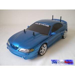 Mustang 95 Azul Metálico Drift RTR By Jahy