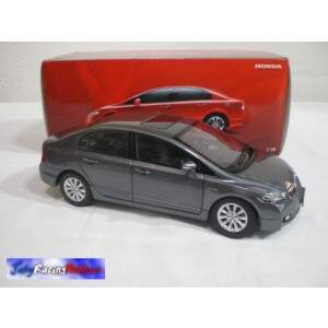 Honda New Civic Cinza Escala 1:18