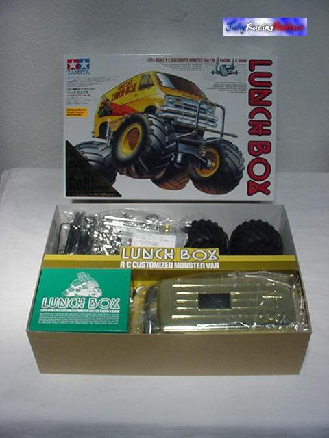Lunch Box Gold Edition Tamiya.
