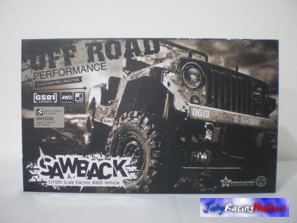 Jeep Willys Sawback Crawler Gmade