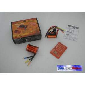 Kit Speed e Motor Brusheless 10 Turns Leopard