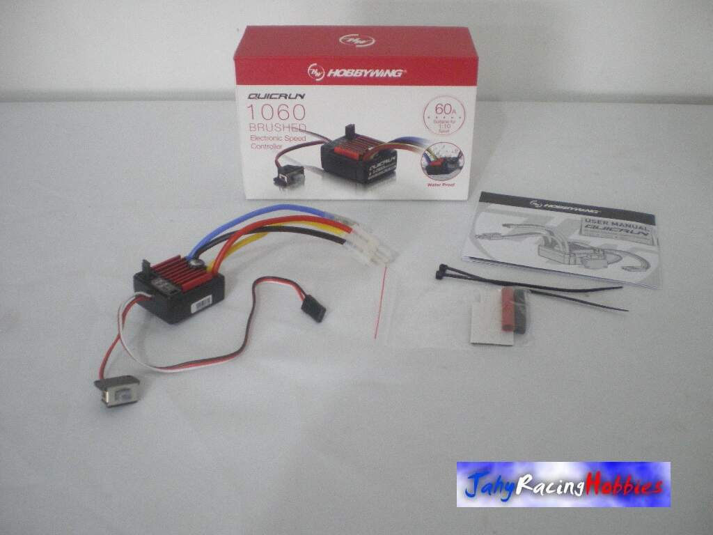 ESC Speed Eletrônico Brushed Waterproof 1060 Hobby Wing