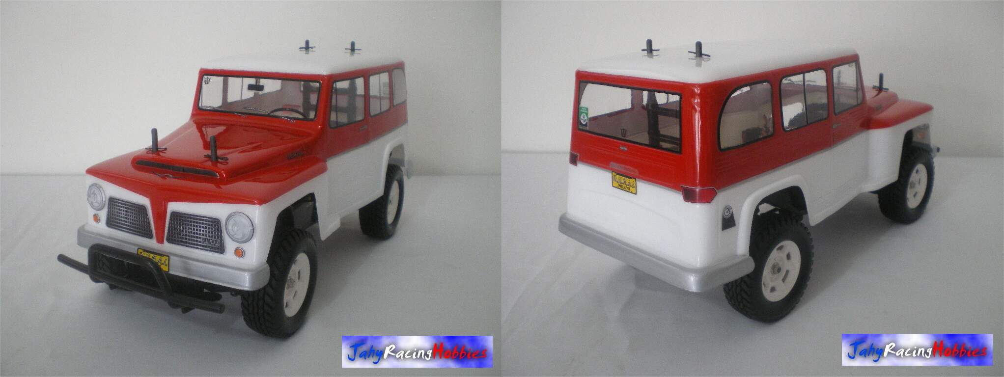 Bolha Rural Willys 67 / Rural Ford 72 By Jahy