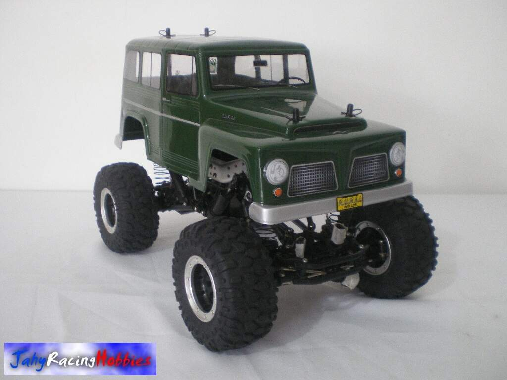 Rural Willys Verde Crawler CR-01 Tamiya RTR