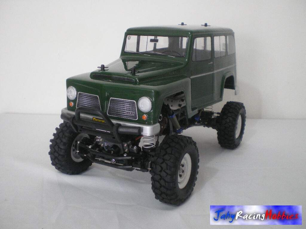 Rural Willys Verde Crawler CR-01 Tamiya Special UP RTR