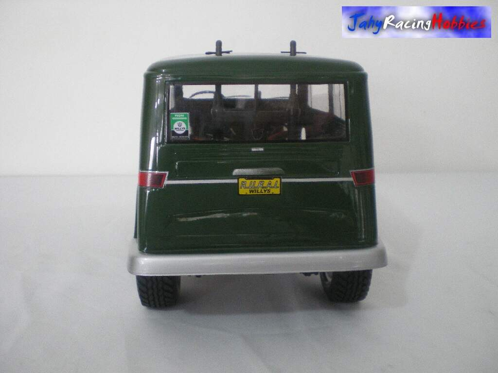 Rural Willys Verde Folha CC-01 RTR Tamiya By Jahy