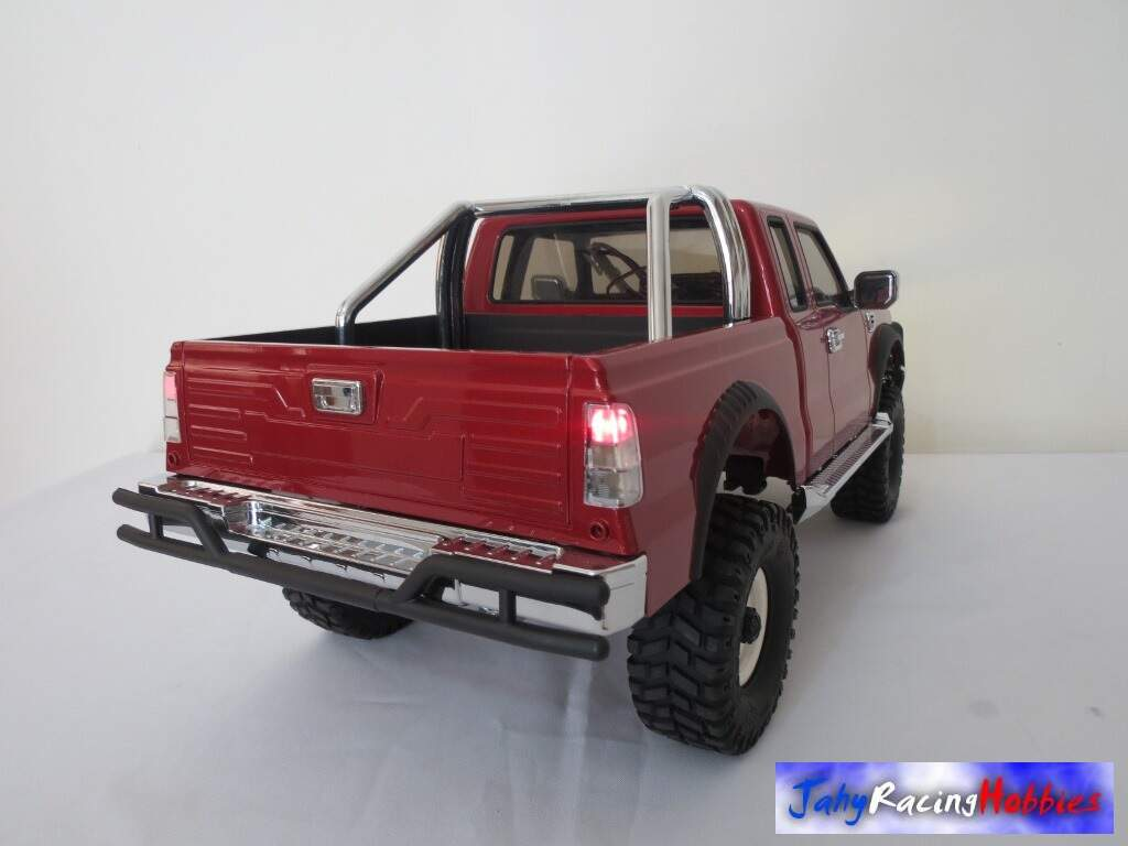 Pick-up PG4 Crawler Cross Vermelho Ruby RTR