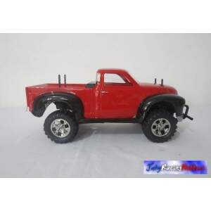 Chevrolet Pick-up Chevy 1950 Vermelho e Preto CC-01 RTR By Jahy