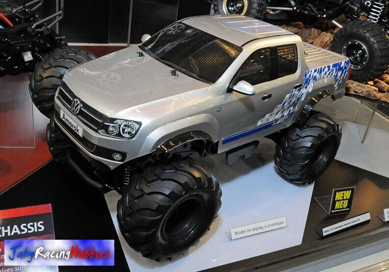 Volkswagen Pick-up Amarok Custon Lift WT-01N Tamiya