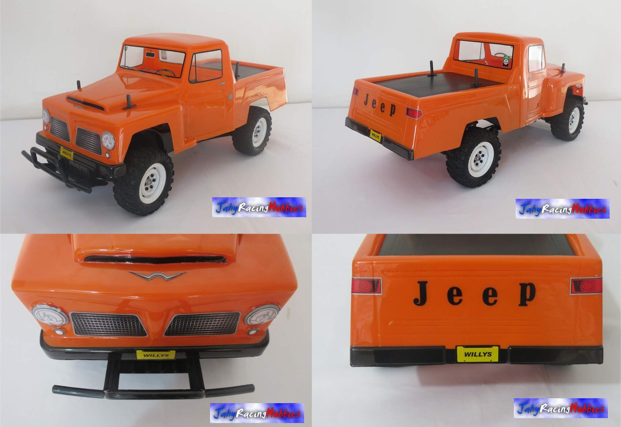 Bolha Pick-up Rural Jeep Willys 66 / Ford F-75 74 Crawler By Jahy