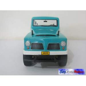 Pick-up Jeep Rural Willys 1966 Azul Piscina CC-01 RTR Tamiya