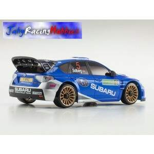 Mini-Z Subaru Impreza WRC 2008 Azul Metálico MR-20s Sports Drift RTR Kyosho