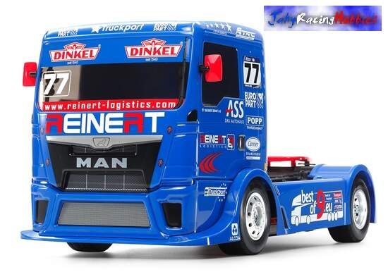 Caminhão Team Reinert Racing Man TGS Tamiya Kit