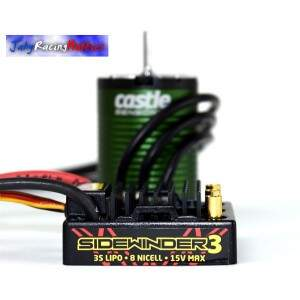 Kit Brushless Sidewinger V3 ESC e Motor 5700kV Neu-Castle 1:10 Castle Creations