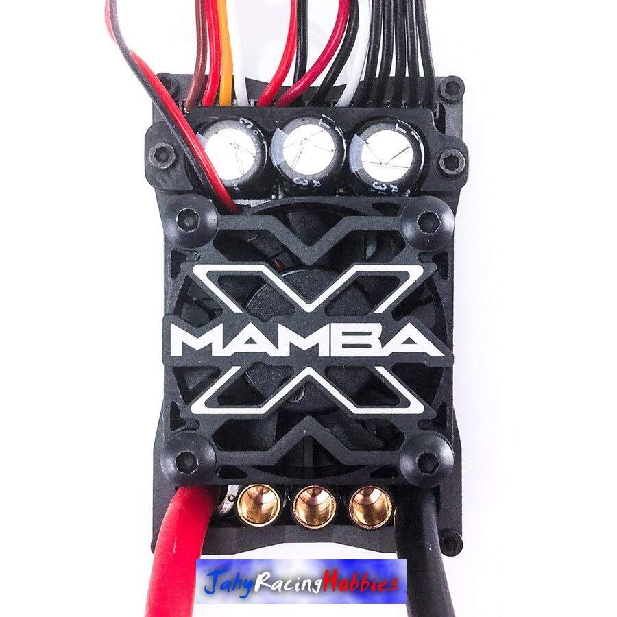 Kit Brushless Mamba X SCT Pro 25.2 WP ESC e Motor 3800kV Neu-Castle 1:10 Castle Creations