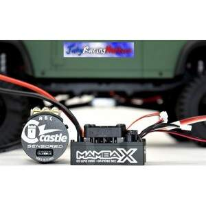 Kit Brushless Mamba X Crawler 25.2 WP ESC e Motor 1900kV Neu-Castle 1:10 Castle Creations