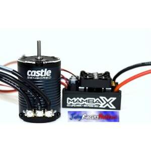 Kit Brushless Mamba X Crawler 25.2 WP ESC e Motor 2850kV Neu-Castle 1:10 Castle Creations