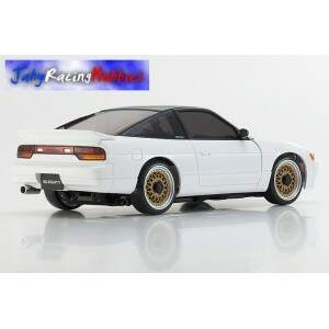 Mini-Z Nissan SILEIGHTY 180SX Branco MR-20s Sports Drift RTR Kyosho