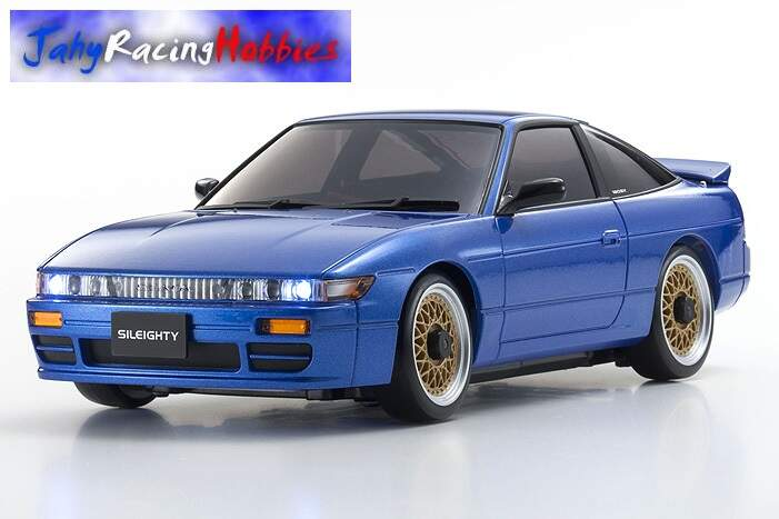 Mini-Z Nissan SILEIGHTY 180SX Azul MR-20s Sports Drift RTR Kyosho