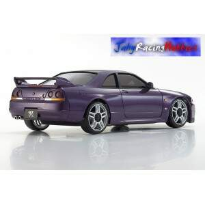 Mini-Z Nissan Skyline GT-R R33 VSpec Roxo MR-20s Sports Drift RTR Kyosho