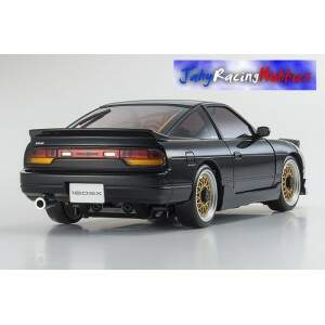 Mini-Z Nissan 180SX Aero Preto MR-20s Sports Drift RTR Kyosho