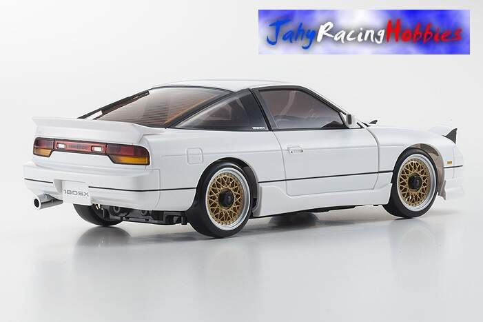 Mini-Z Nissan 180SX Aero Branco MR-20s Sports Drift RTR Kyosho