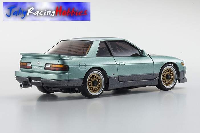Mini-Z Nissan Silvia S13 Aero Verde MR-20s Sports Drift RTR Kyosho