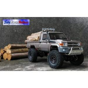 Toyota Land Cruiser LC70 High Lift Marrom Metálico RTR Tamiya