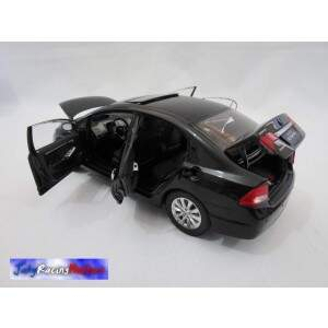 Honda New Civic Preto Escala 1:18