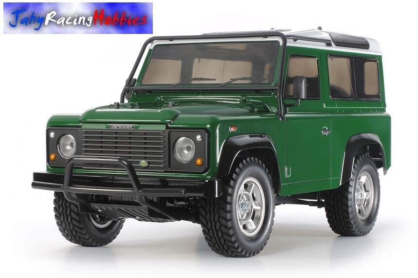 Bolha Land Rover Defender D90 Clear Tamiya