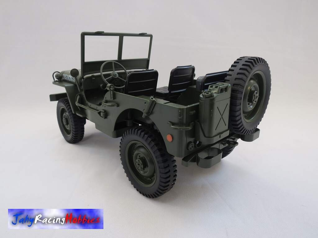 Jeep Willys Exército Americano RTR